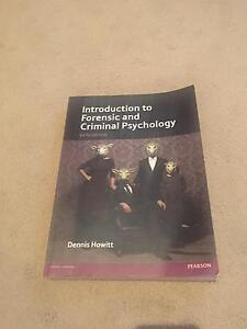 Introduction to Forensic and Criminal Psychology - 5th edition Ashmore Gold Coast City Preview
