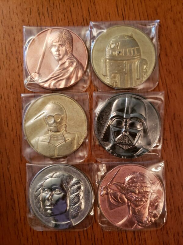 Star Wars 2005 Lottery Coin Collection