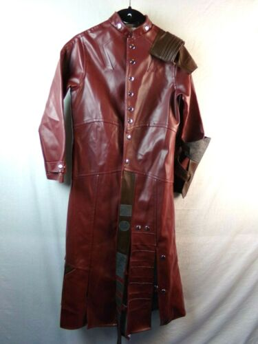 Boys Star Lord Long Coat Overcoat Guardians of the Galaxy Rubies Large Costume