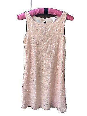 Pink Sequin Dress (H&M Size XS Pink Sequin Dress)