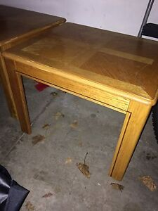 End tables 2 different sets