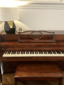 Beautiful 1940's Bell Piano, Small Upright, Canadian Made