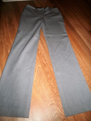 "Women's Express DESIGN STUDIO Gray ""Editor"" Dress Pants Size 2 CAREER"