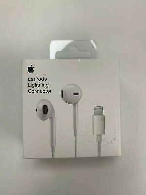 NEW Genuine Official Apple iPhone 7 8 10 X Earphones Headphones 100% Original UK