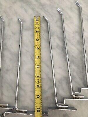 Lot Of 50 Heavy Duty Slatwall Scanner Hooks 10 Scan Hook