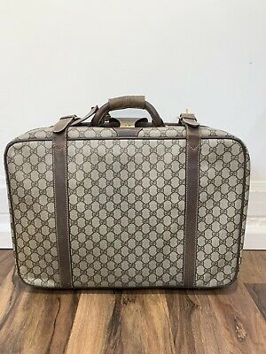 Vintage Gucci Monogram Suitcase