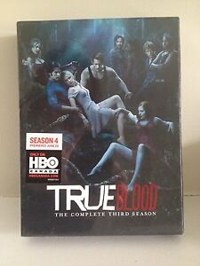 True Blood Season 3 DVD Box Set - New