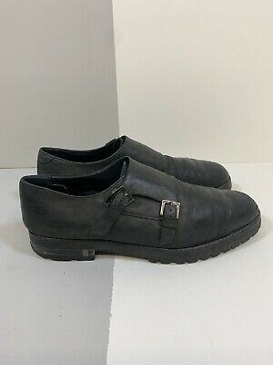 Versace Collection Leather Shoes EUR 44 Mens Damaged