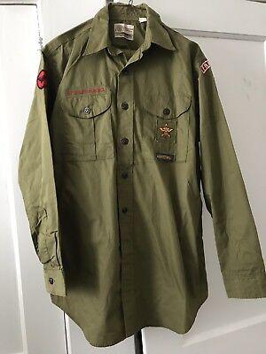 Defunct Troop Boy Scouts of America 2 pc Uniform Franktown 311 Eastern Shore VA