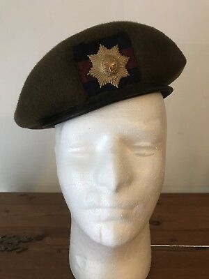 Military Beret With Badge