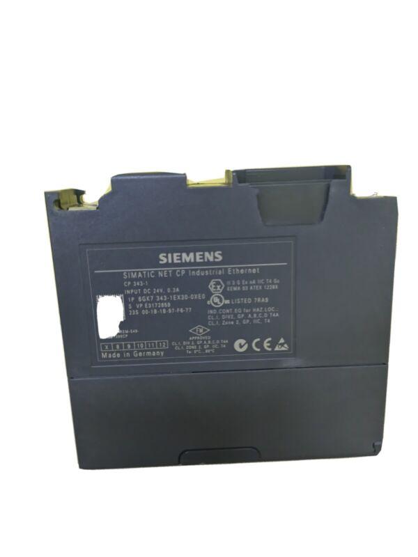 Siemens Simatic NET CP 6GK7343-1CX10-0XE0 Industrial Ethernet