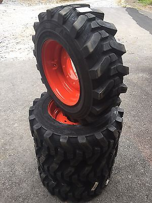 4-10-16.5 Hd Skid Steer Tireswheelsrims For Bobcat - Camso Sks532 - Heavy Duty