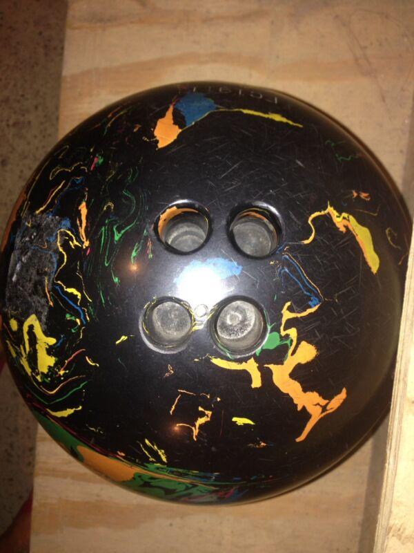Vintage Mr.Manhattan 15 lb.- 5 Hole Bowling Ball  (BALL ONLY)