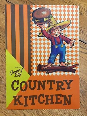 Vintage Country Kitchen Restaurant Menu Home of Country Boy & Country Girl