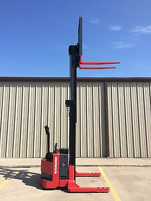 2009 Raymond Rss40 Walk Behind Forklift Straddle - Very Nice Double 128 3750lb
