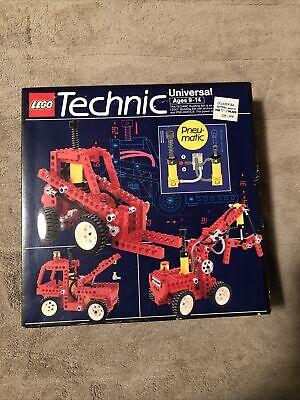 LEGO Technic 8044 Universal Pneumatic Set - NEW IN BOX - Vintage 1989