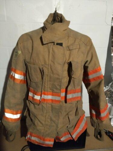4632R Lion Janesville 2000 isodri firefighter turnout bunker jacket coat w/liner