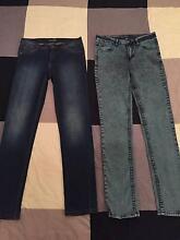 Mens Ziggy Jeans x 2