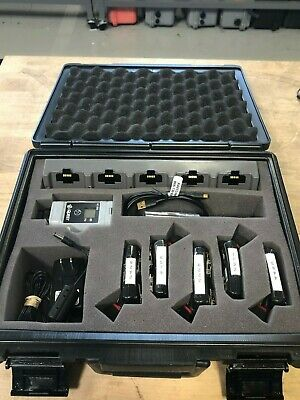 Used 5 Pack Of Tsiquest3m Edge 5 Noise Dosimeters