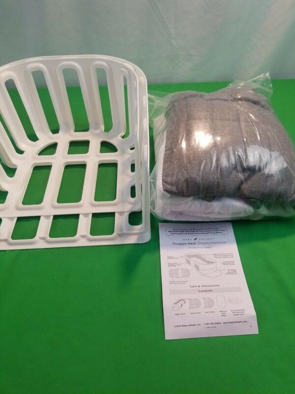 Baby Delight Snuggle Nest Dream Portable Infant Sleeper-Gray