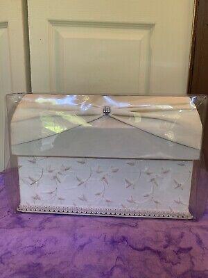 Lillian Rose Wedding Bridal reception shower Card Holder Box keepsake chest