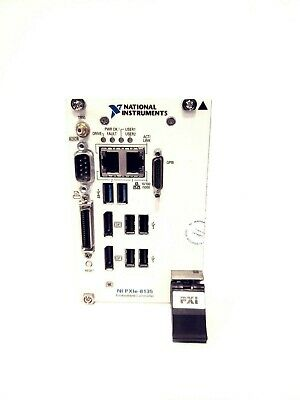 National Instruments Ni Pxie-8135 Pxie 2.3 Ghz Quad-core Pxi Controller