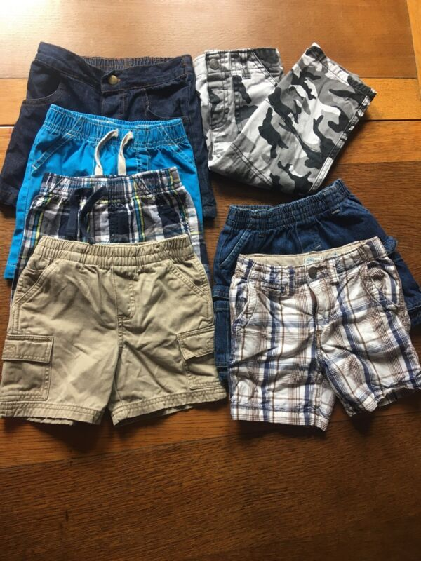 Toddler Boys Shorts Lot Size 18 & 24 Months SUMMER CLOTHES