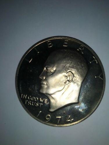1974 Eisenhower Uncirculated Silver Dollar - $29.99