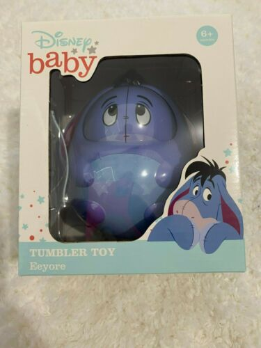 Disney baby Eeyore Tumbler Toy with sound - NEW in box