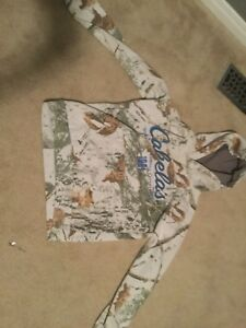 Youth Cabela's Sweater and browning sweater