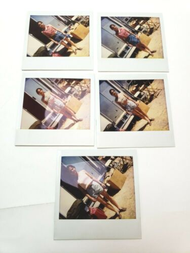 INDEPENDENCE DAY Original Sci Fi Polaroid Pictures, Lisa Jakub, ALICIA