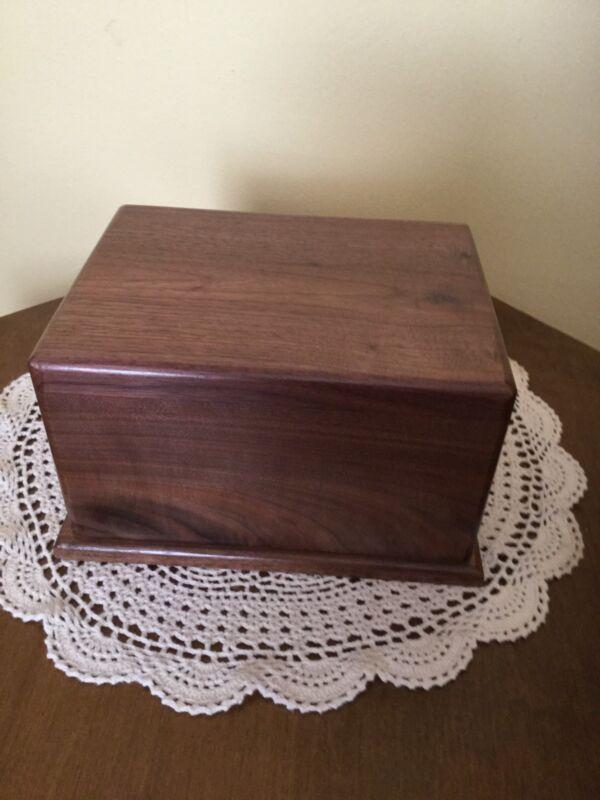 Walnut wood Cremation Urns     Adult USA Made 🇺🇸