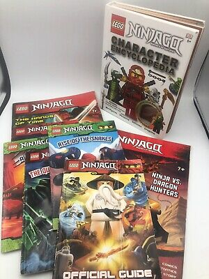 Lot Of 8 LEGO Ninjago Readers Books Preowned