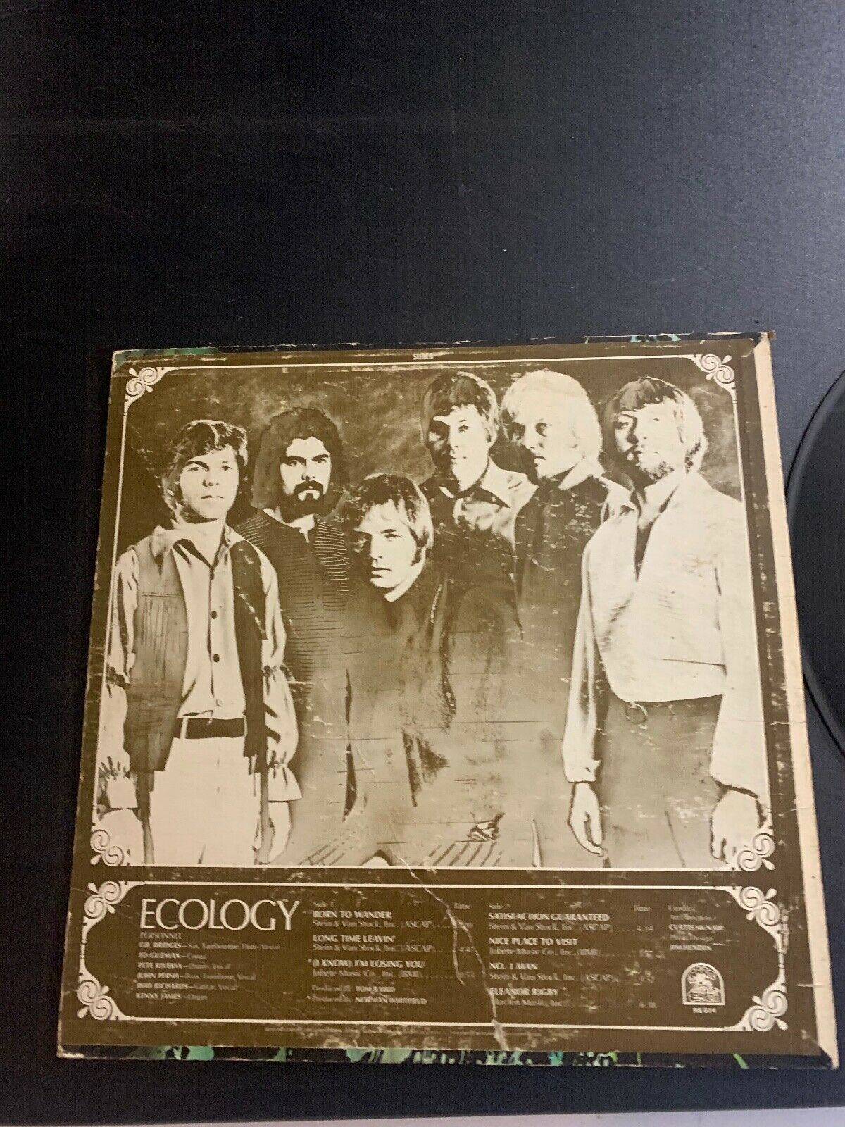 LP RECORD - RARE EARTH - ECOLOGY - RARE EARTH RECORDS - $9.99
