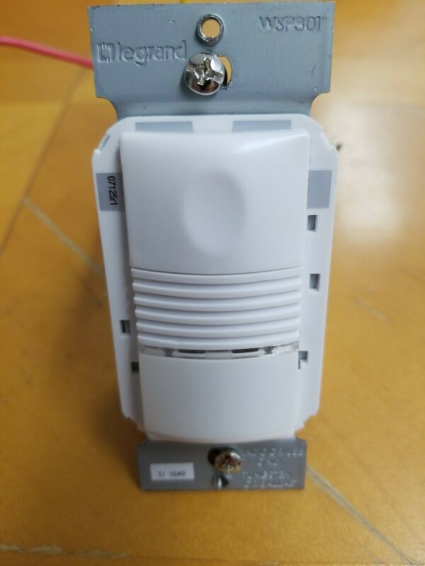 Wattstopper (WSP301W) PIR Wall Switch Sensor