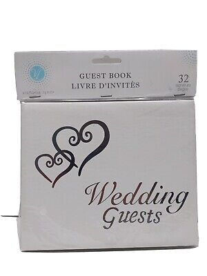 Victoria Lynn Wedding Guest Book 32 signature pages SHIPS FROM TEXAS 🇺🇸🇺🇸USA