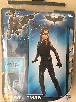 Cat woman Costume DC Superhero Large 12-14 NEW - Cat Woman Costumes