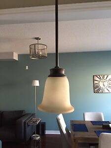 Pair of ceiling light pendants only $50 for the set