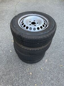 VW 4 x Wheels and tyres set