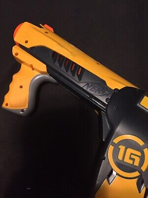 Nerf Dart Tag 1G Quick 16 Blaster Dart Gun Works!!!! Pre-owned