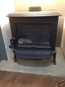 jotul f100 ex display defra multifuel stove woodburner. Black Bedroom Furniture Sets. Home Design Ideas
