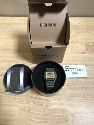 Casio G-Shock GLX5600 Herschel LE Army Green Digital Men's Watch GLX5600HSC-3