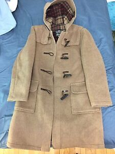 Brown coat size 12