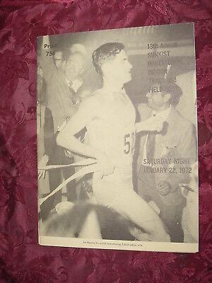 13th Annual SUNKIST Invitational Indoor Track Field Meet January 22 1972 PROGRAM