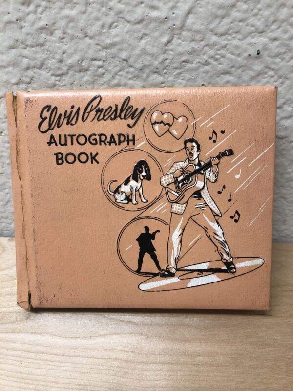 Original Rare Unused Elvis Presley 1956 EPE Autograph Book