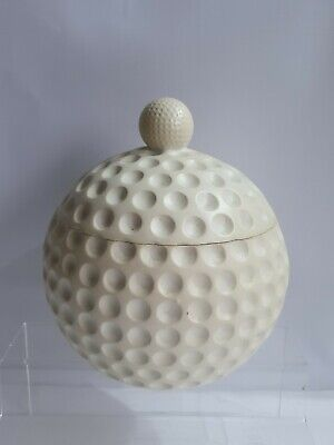 Vintage Original Golf Ball Ice Bucket with glass liner