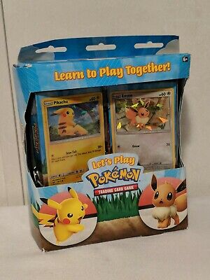 Lets Play Pokemon Trading Card Game - New