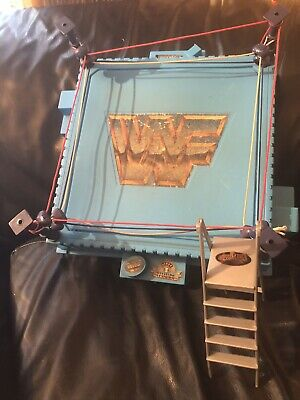 WWF Wrestlemania Ring And 15 Action Figures 1993 RARE!