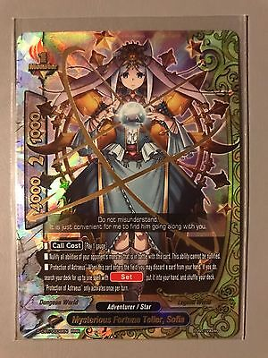 FUTURE CARD BUDDYFIGHT MYSTERIOUS FORTUNE TELLER SOFIA D-CBT/0008EN RRR - Mysterious Fortune Cards