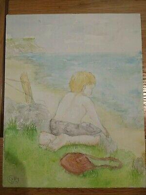 "Art Card Prints Puffins /""Shall we Dance?/"" Watercolour Painting,Original Art"